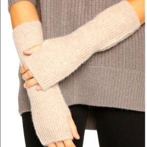 Free People Outside the Lines Camel arm warmers